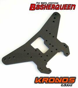 Basherqueen Carbon Fiber Shock Tower Rear Team Corally Kronos XTR 5mm