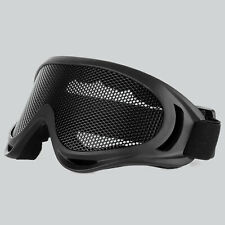 Airsoft Tactical Metal Mesh Lens Eyes Protection Goggle Glasses Outdoor Hiking