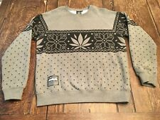 LRG Lifted Research Group ALPINE DIVINE mens L large sweatshirt snowboard weed