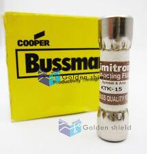 Fast Acting Fuse KTK-15 Bussmann  for  Fluke 83 85 86 87 88 Multimeter,15A 600