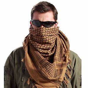 Shemagh Military Army Cotton Heavyweight Arab Tactical Desert Keffiyeh Scarf Bro