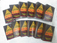STARTER SET UnLIMITED 1995 55-cds Illuminati INWO Card Game New World Order