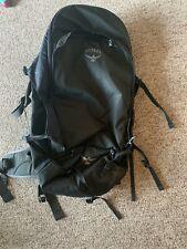 OSPREY Backpack BLACK Camp/Hike Bag - Ships FAST