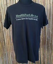 Black T-Shirt Men's Size 2XL Health for Life 2.0 Weed cannabis Dispensary