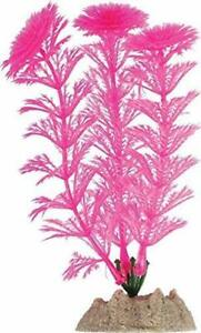 Tetra Glofish Glow Plant 5 Inch Small Pink Aquarium Ornament Glo Effect Decor