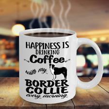 Coffee With Border Collie Mug, Border Collie Mug, Border Collie Accesstories