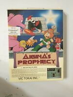 """Aigina's Prophecy 5.25"""" disk Commodore 64/128 Disk and Box only Vic Tokai"""