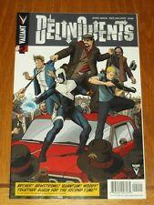 DELINQUENTS #2 VALIANT COMICS VF (8.0)