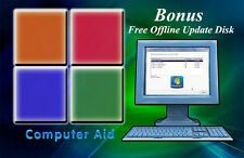 Windows 7 32 & 64 Bit - Home Premium Pro Ultimate - Install Repair Recovery DVD