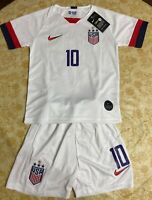 Nike Lloyd Team USA Home Soccer Jersey & Shorts Youth 24 (M) & 26 ( L ) NEW