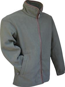 Jack Pyke Countryman fleece jacket in Olive, Hunting Shooting Stalking