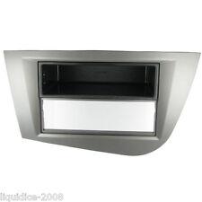 Ct24st05l SEAT LEON 2005 a 2012 Antracite SINISTRO DRIVE Fascia & Pocket