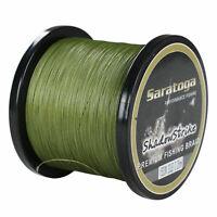 8 Strands Army Green Power Dyneema Braid Fishing Line 100M/300M/500M/1000M