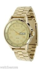 Fossil Light Green Dial Gold tone Stainless Steel Men's Watch AM4435