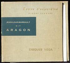Aragon Barrault Véga 17 cm / 10'' LP & CV EX