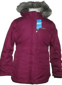 Columbia Girl's Beverly Mountain Omni Heat Hooded Insulated Winter Jacket NWT