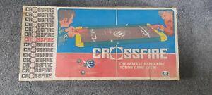 Vintage Ideal Crossfire game 1970 with Genuine Origimal Guns
