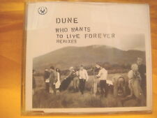 MAXI Single CD DUNE Who Wants To Live Forever Remixes 3TR 1996 house trance