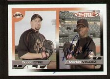 Merkin Valdez signed autograph auto 2005 Topps Total Trading Card