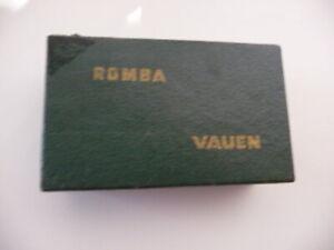 Romba Vauen - Tischkegelspiel - Kegel + Kreisel