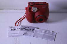 Fujifilm Instax MINI 7s Red Instant Film Camera - Red - USED