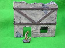 WARHAMMER SCENERY , SCRATCH BUILT RUIN #6, PAINTED