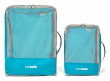 pacsafe Travel Packing Cubes Kleidersack Reiseaccessoire Pacific Blau Grau