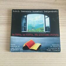 C.S.I. _ La Terra La Guerra ... _ CD Album digipak _ 1998 Black Out 1st press