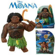 Disney Moana Talking Maui Doll Action Figures Singing Movie Song Kid Toy Playset