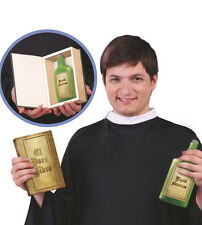 Bible Prop With Hidden Drinks Bottle Vicar Pope Cardinal Fancy Dress Good Book