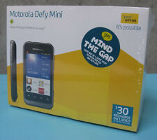 "Optus Motorola Defy Mini XT320 3.2""LCD 3MP Android Dust Scratch Water Resistant"