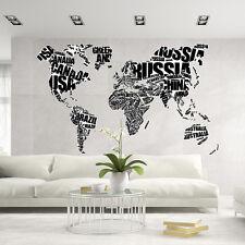 CD0024 Adesivo murale Arredo Casa Wall Art Mondo di parole 160x100 cm