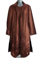 COLLECTION FIRST AVENUE Women's Brown Sparkly Shimmer Jacket/Dress Suit. UK 12.