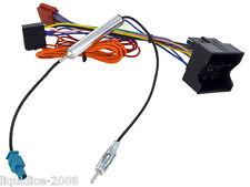 CD30 CD70 VAUXHALL MERIVA 2009 ONWARDS RADIO ISO WIRING HARNESS AERIAL ADAPTOR