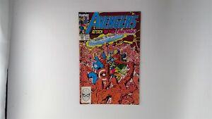 Avengers #305 Marvel Comics 1989 VF/NM Attack of the Lava Men!
