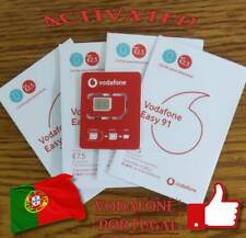 New! activated Vodafone Portugal SIM card ready to use 2.50€ balance Portuguese