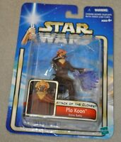 STAR WARS ATTACK OF THE CLONES PLO KOON ARENA BATTLE #12 2002 HASBRO MOSC
