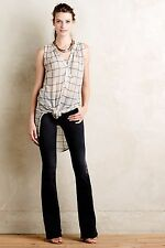 Anthropologie Mih Bodycon Marrakesh Flare Jeans WICK BLACK WAS NEW NWT $250 31