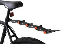 "Flinger Rear Bike Retractable Adjustable Mudguard MTB Fender 12-26"" Wheels Black"