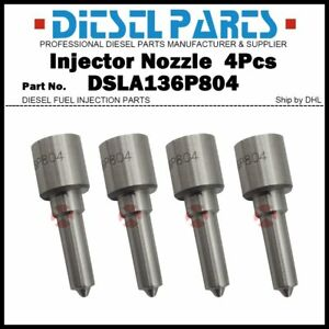 4Pcs Injector Nozzles DSLA136P804 0433175203 for IVECO DAILY III Fiat Ducato 2.8