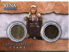 Xena Beauty And Brawn Dual Costume Card DC2 Cyane