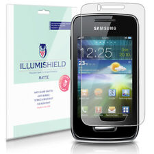 iLLumiShield Anti-Glare Matte Screen Protector 3x for Samsung Wave Y (S5380)