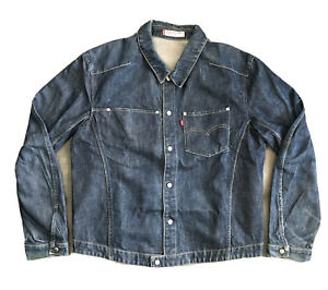 Veste Levi's Strauss Retro Vintage Engineered Jeans Jacket Levis 70100 / Bleu XL
