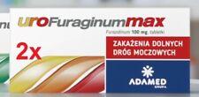 2x 30TABL 100MG UROFURAGINUM-MAX urinary/bladder /infection/ bacteria
