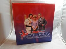 THE NEW AVENGERS TRADING CARDS COLLECTORS BINDER BY STRICTLY INK
