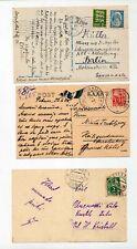 ESTONIA Early Postcards x 7 Used  (ZZ109