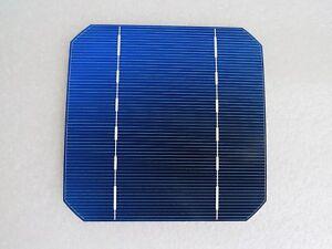 Solar Cell Wafers - Monocrystalline 2.7W 0.5V 125mm x 125mm - 17.64% - UK STOCK