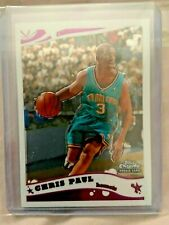 Chris Paul 2005-06 Topps Chrome Rookie Card Rc #168 Phoenix Suns Hornets - Hof