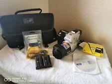 Sony Digital Mavica MVC-FD97 2.1MP 20x Zoom Digital Camera & Two Batteries