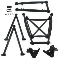 HPI 1/12 Wheely King 4x4 * SUSPENSION ARM RODS, MOUNTS & BRACE SET * Link Pivot